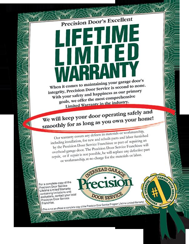 Our Famous Garage Door Warranty